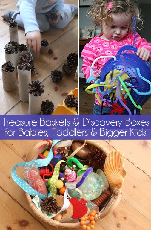 Treasure baskets and discovery-boxes