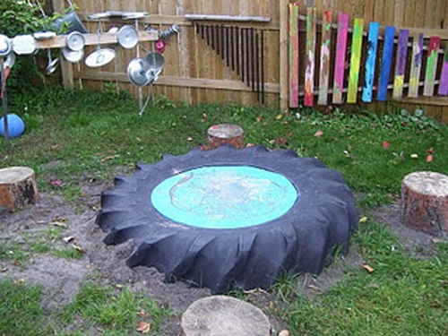 Childcare Backyard Ideas : Our Play Space Our Outdoor Music Space  Childhood101