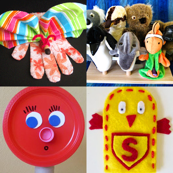 Literacy Spot #50: Playing With Puppets