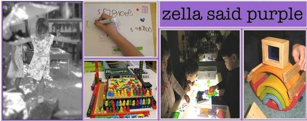Zella Said Purple blog