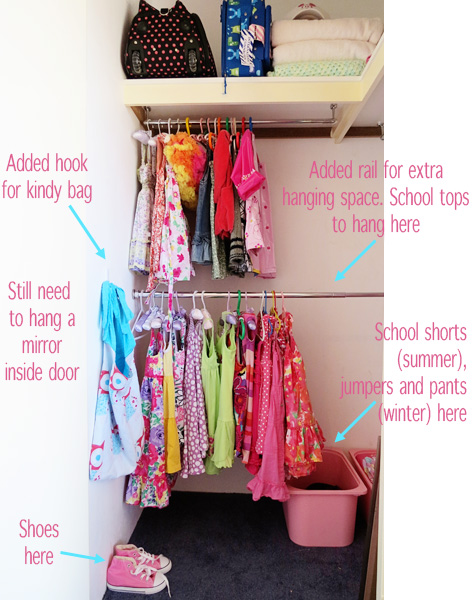 organising kids rooms