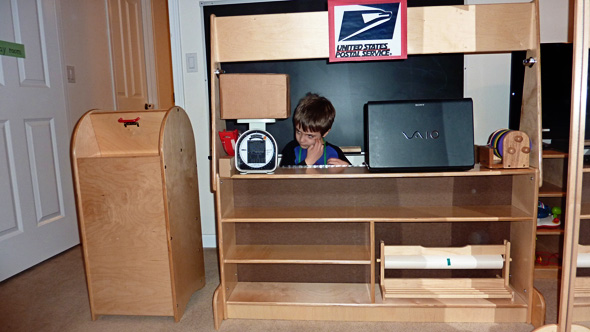 Our play space the ever changing playroom childhood101 for Office playroom