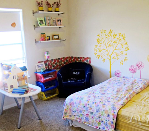 Our Play Space: Miss E's Bedroom