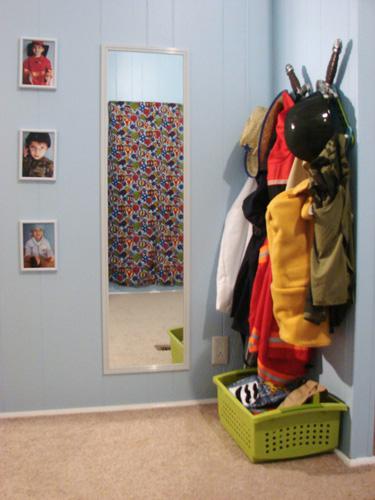 dress up storage ideas