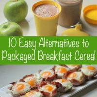 healthy breakfast alternatives to cereal