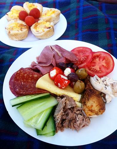 ploughmans lunch recipe filling ideas