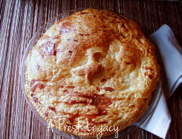 chicken and vegetable pie recipe