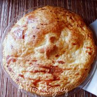 Easy chicken and vegetable pie