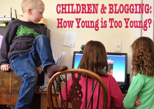 Children & Technology: Would You Let Your Child Start a Blog?