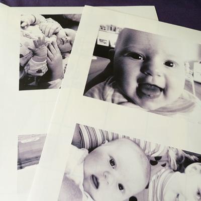 make a cloth baby book