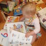 Cam exploring books