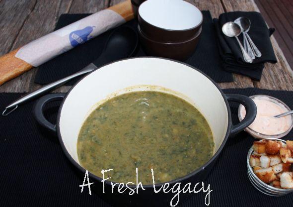 Potato Spinach Soup Recipe