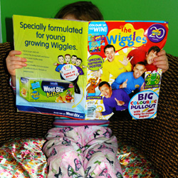 kids and magazines