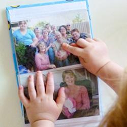 photo album literacy