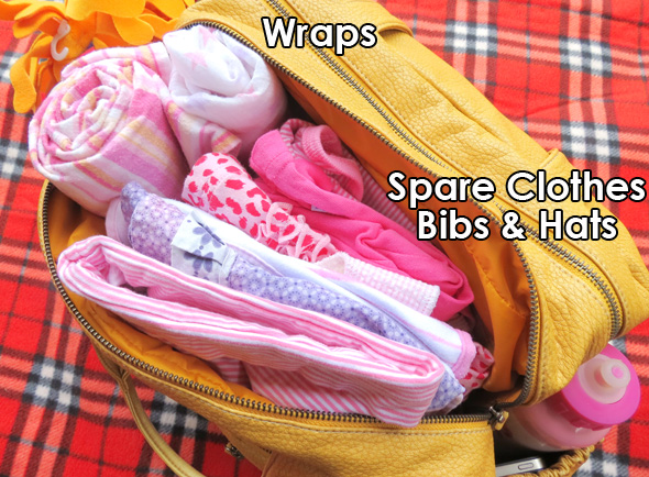what to include in a nappy bag
