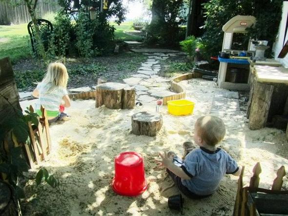outdoor play idea