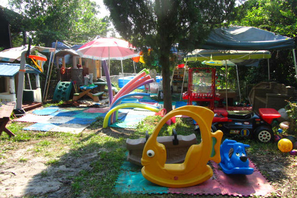 outdoor play space ideas