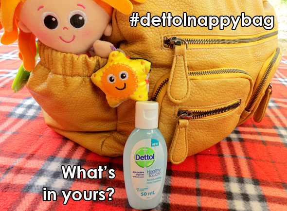 dettol nappy bag competition