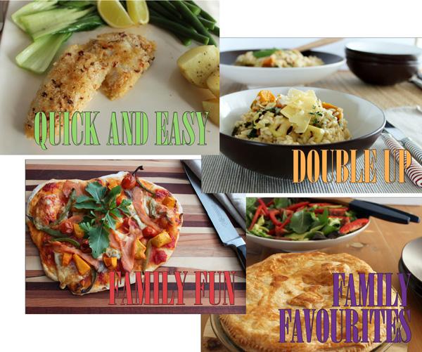 family food dinner recipes