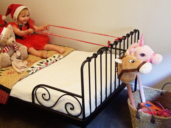 christmas sleigh imaginative play