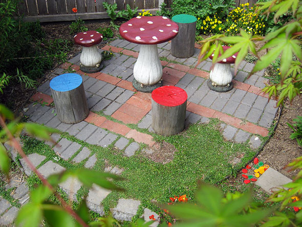 Our Play Space: Toadstool Nook