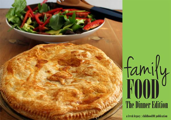 Family Food Dinner recipes ebook