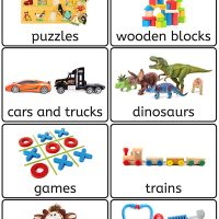 28 Printable Toy Bin Labels for Playroom Storage