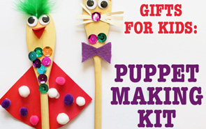 Puppet Making Kit: Homemade Gifts for Kids