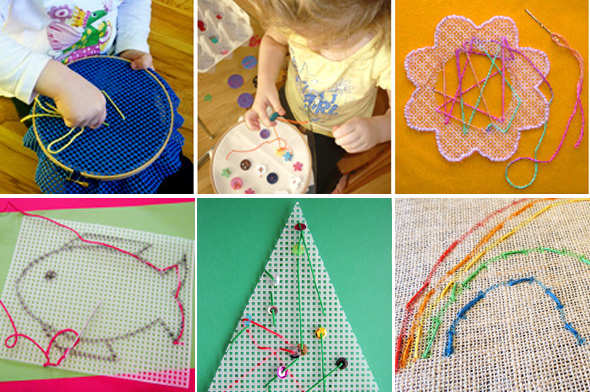 children's sewing activity ideas