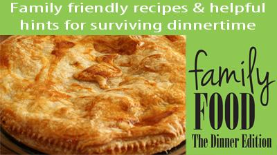 Family Food recipe ebook