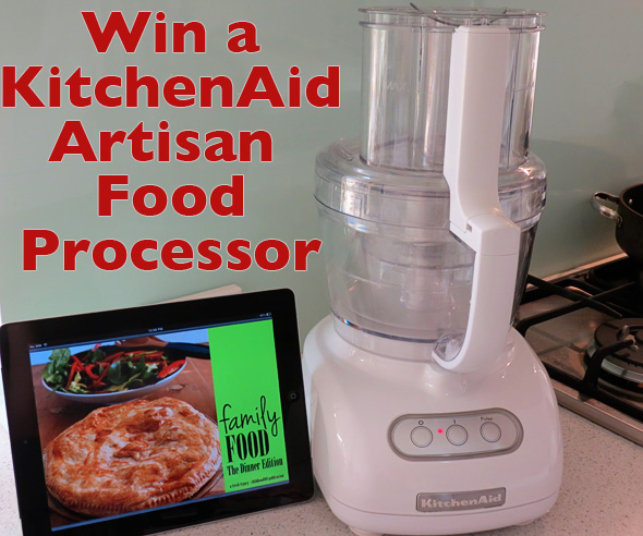 What makes for a dinner winner at your place win with kitchenaid kitchenaid artisan food processor forumfinder Images