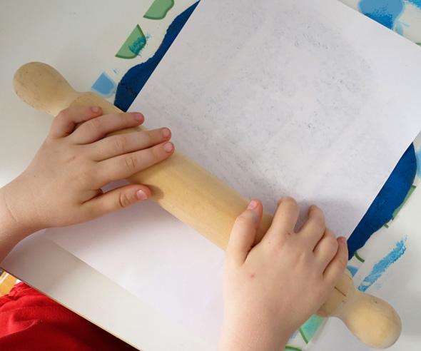 kids art playdough pictures