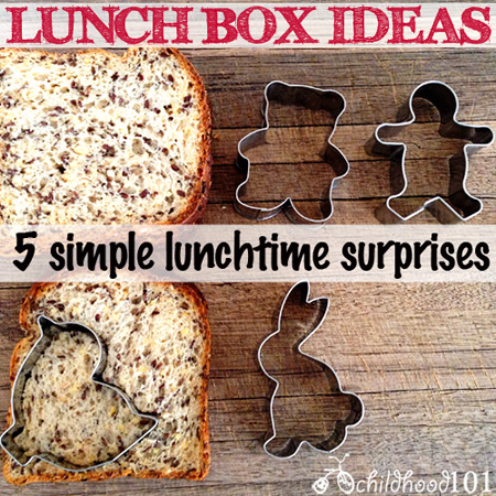 5 Simple Lunch Box Ideas: Make Your Child's School Lunch More Memorable