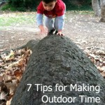 making outdoor time a habit