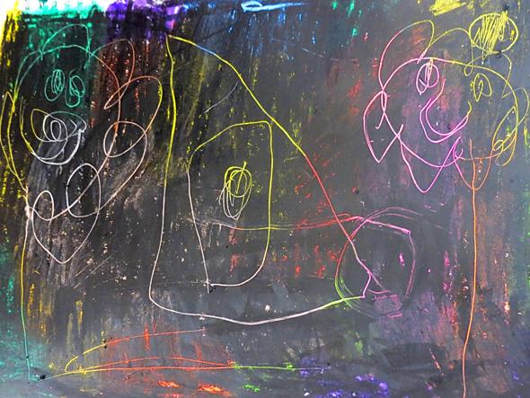 Childhood 101 Making Scratch Art