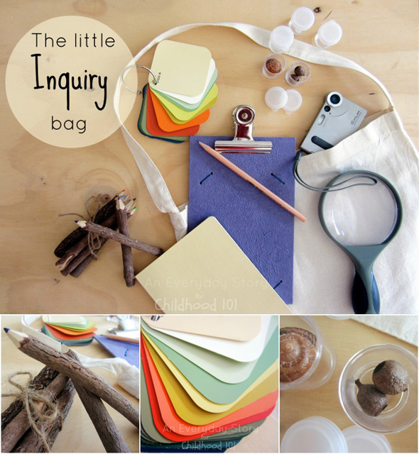 The Little Inquiry Bag - An Everyday Story for Childhood 101