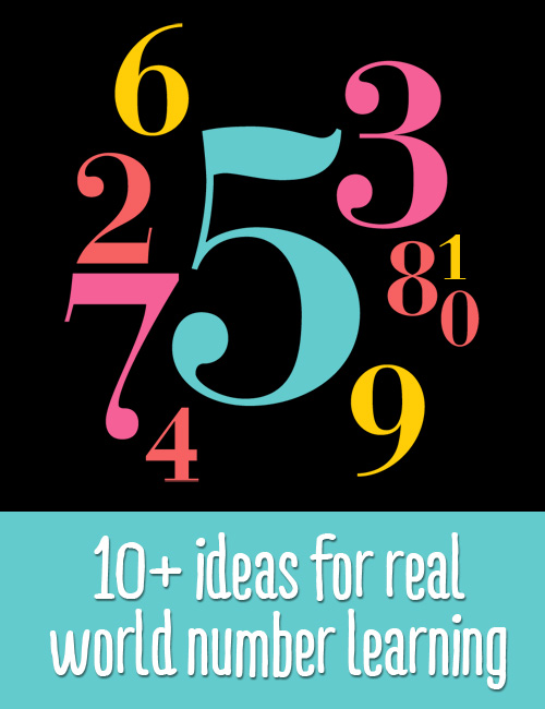 Incorporating Numbers into Everyday Life