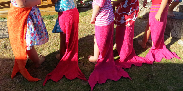 sewing mermaid tail costumes