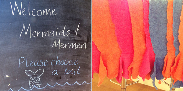 sewing mermaid tails