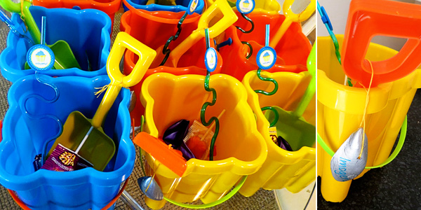 water party favour ideas