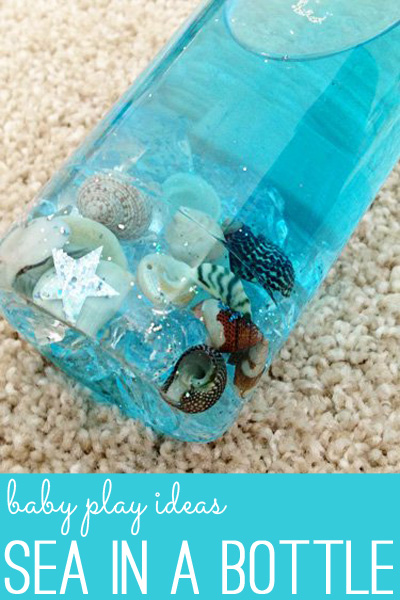 Baby play ideas: Sea in a Bottle