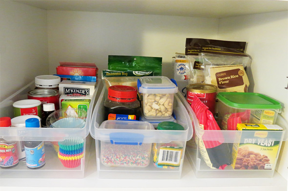 snack organisation ideas