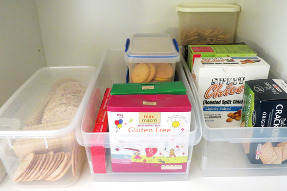 snack storage ideas