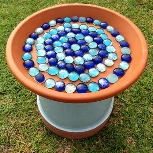 FAMILY WEEKEND PROJECT Build a Bird Bath from a Terracotta Pot