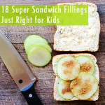 Lunch box ideas- sandwich filling ideas