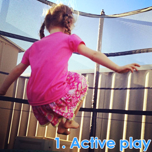 Outdoor Play Spaces - active play ideas
