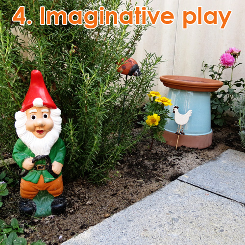 Outdoor Play Spaces - imaginative play