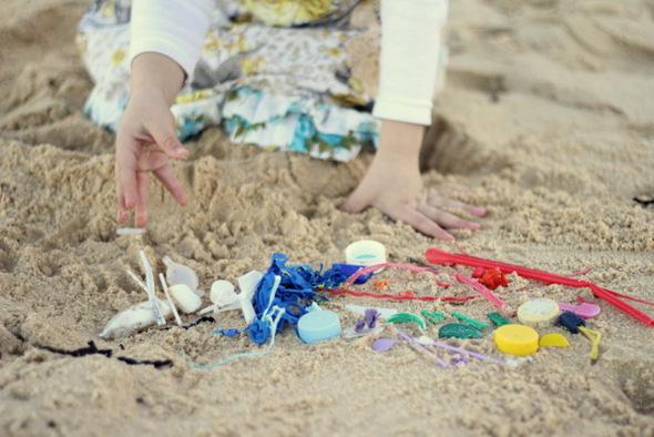 Outdoor activities with kids - beach sculpture