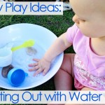 baby play ideas- starting out with water play