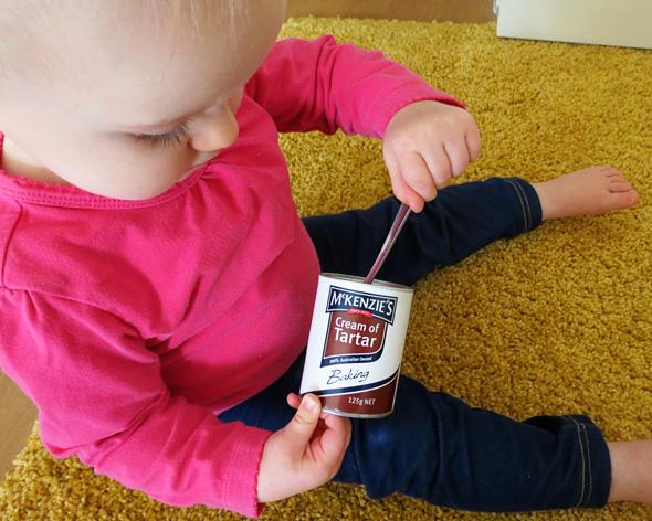 Childhood 101   Baby Play Ideas - Shiny & Reflective Treasure Basket